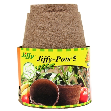 Jiffy 5in Pots 6-Pack