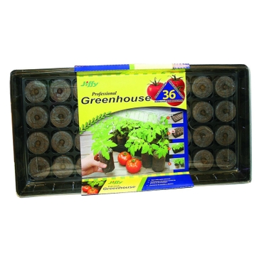 Jiffy Tomato Greenhouse 36-Count