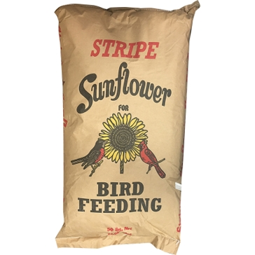 Bagged Bird Feed Stripe Sunflower 40lb