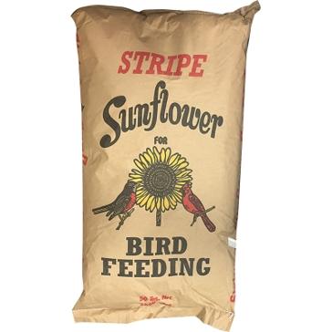 Bagged Bird Feed Stripe Sunflower 40lb