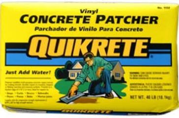 Quikrete 1133-40 Concrete Patch, 40 lb Bag