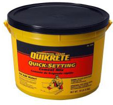 Quikrete 10 Lb. Quick Setting Cement 1240-11
