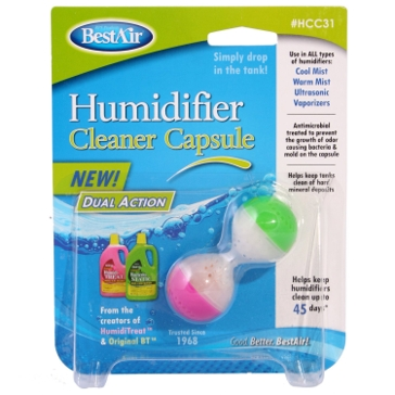 BestAir Humidifier Cleaner Capsule