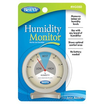 BestAir Indoor Hygrometer