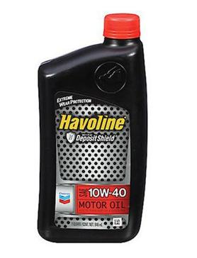 Havoline 10W-40 Motor Oil - 1 qt