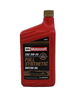 Genuine Ford Fluid 5W-20 Full Synthetic Motor Oil - 1 Quart Bottle