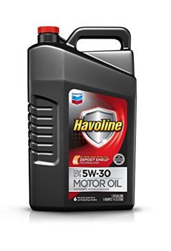 Havoline 5W-30 Motor Oil - 5 qt