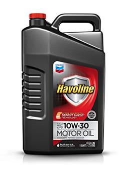 Havoline 10W-30 Motor Oil - 5 qt