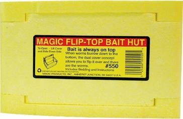 Magic Flip-Top Bait Hut