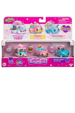 License 2 Play Toys Cutie Car Shopkins - 3 Pack Assortment