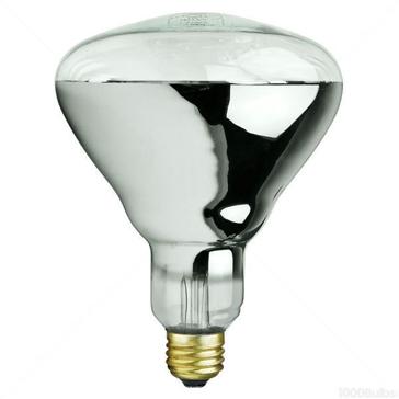Satco 125W Infrared Clear Heat Lamp
