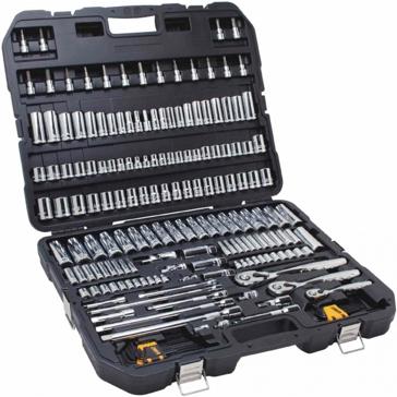 DeWalt DWMT75049 Mechanic's Tool Set 192pc