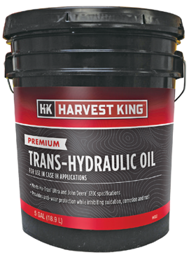 Harvest King Premium Trans-Hydraulic Fluid For Case IH - 5 gal.