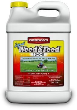 Gordn's Liquid Weed & Feed 15-0-0 2.5Gal