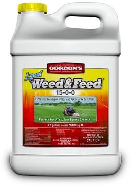 Gordn's Liquid Weed & Feed 15-0-0 2.5Gal