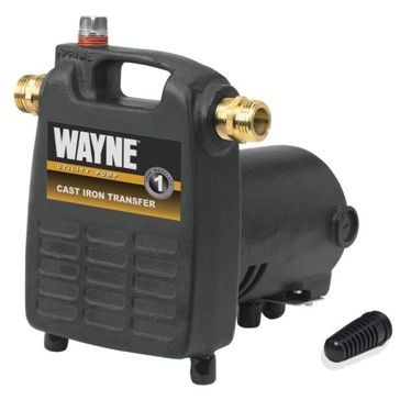 Wayne 1/2 HP Cast Iron Transfer Sump Pump PC-4