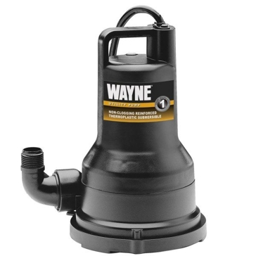 Wayne 1/2HP Reinforced Thermoplastic Submersible Multi- Use Pump VIP-15