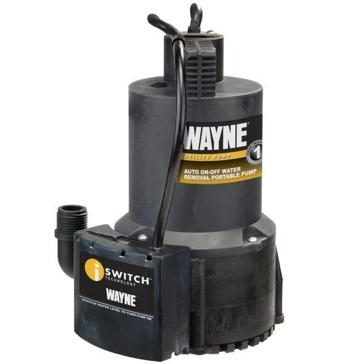 Wayne 1/4HP Automatic ON/OFF Electric Water Removal Pump EEAUP250