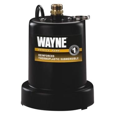 Wayne 1/4 HP Thermoplastic Utility Pump TSC130