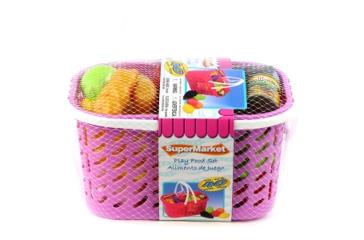 Gi-Go Toys Play Food Basket Assorted