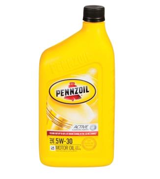 Pennzoil SAE 5W30 Motor Oil