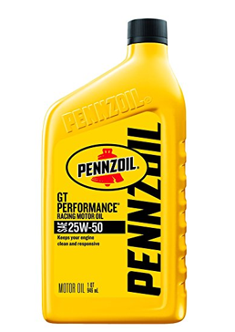 Pennzoil 25W-50 Racing Oil, GT Performance Oil – 1 Quart
