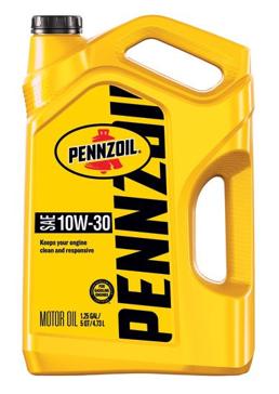 Pennzoil 5 quart 10W-30 Motor Oil