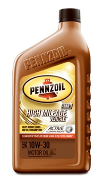 Pennzoil High Mileage Vehicle 5W30 Motor Oil - 1 Quart Bottle