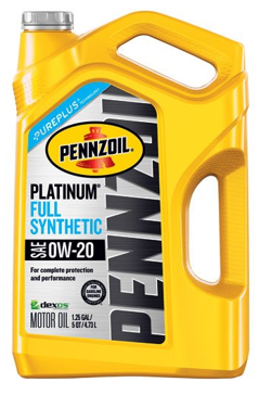 Pennzoil Platinum 5 quart 0W-20 Full Synthetic Motor Oil
