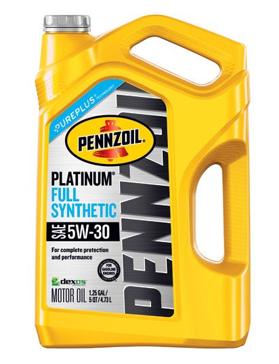 Pennzoil Platinum 5 quart 5W-30 Full Synthetic Motor Oil