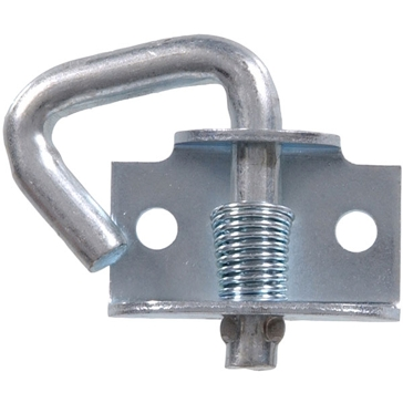 Hillman Zinc Plated Rope Binding Hooks Spring - Snap Back Style