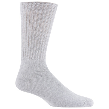 Railroad Sock Mens Crew Work Socks 3-Pair Grey Size 10-13 6032