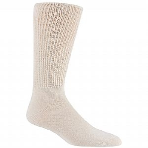 Railroad Sock Mens Therapeutic Socks 2 Pair Natural Size 10-13 991NA