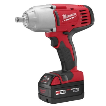 """Milwaukee M18 1/2"""" High-Torque Impact Wrench w/ Friction Ring Kit 2663-22"""