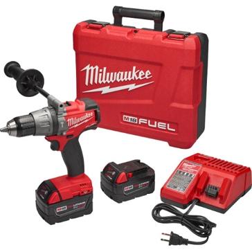 "Milwaukee M18 Fuel 1/2"" Hammer Drill/Driver Kit 2704-22"