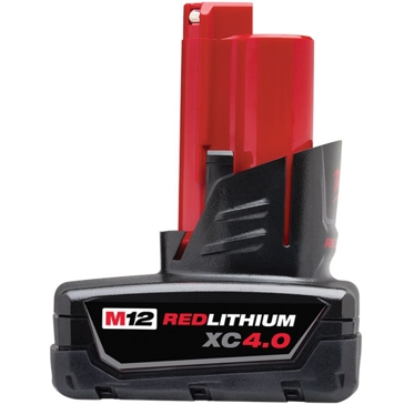 Milwaukee M12 RedLithium XC 4.0 Extended Capacity Battery Pack
