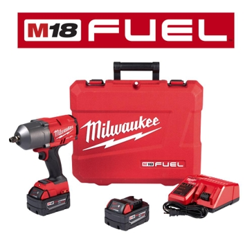 "Milwaukee M18 FUEL™ High Torque ½"" Impact Wrench with Friction Ring Kit 2767-22"