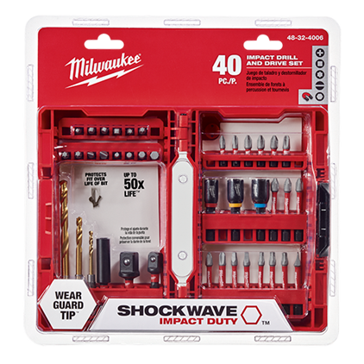 Milwaukee 40 Pc Shockwave™ Drill & Drive Set
