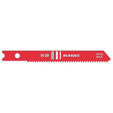 "Milwaukee 2-3/4"" 18 TPI High Speed Steel Jig Saw Blade (5 PK)"