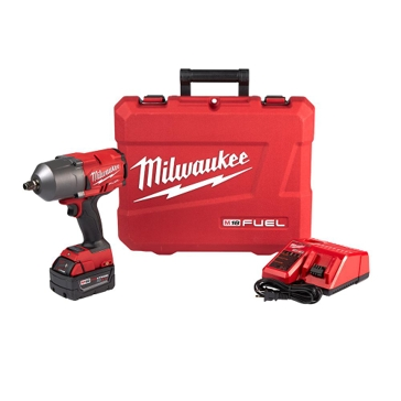 "Milwaukee M18 FUEL 1/2"" High Torque Impact Wrench Kit 2767-21 with one 5.0ah Battery and charger"