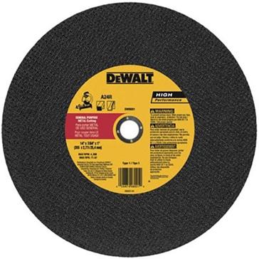 """Dewalt 14"""" Chop Saw Wheel DW8001"""