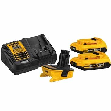 Dewalt 20V MAX Battery Adapter Kit for 18V Tools DCA2203C