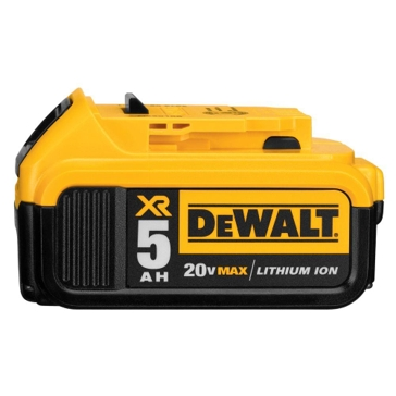 DeWalt 20V MAX* XR® 5.0AH LITHIUM ION BATTERY PACK