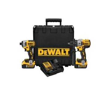 DeWalt Hammer drill & Impact Combo Kit DCK299P2