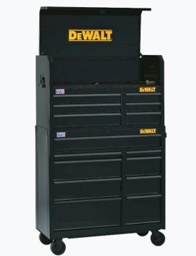 "DeWalt 41"" 2 pc. Chest & Cabinet Set"
