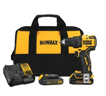 DeWalt Atomic 20V MAX* Brushless Compact 1/2 in. Drill/Driver Kit