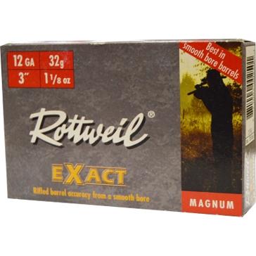 "Rottweil EXact Magnum 12ga 3"" 1-1/8oz 5RD"