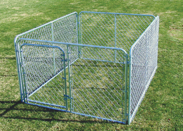 SPS Fence Complete Wire Dog Kennel 6x8x4ft