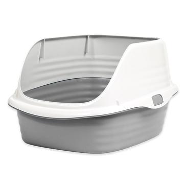 Petmate Stay Fresh Rimmed Litter Pan