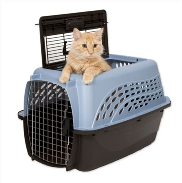 Petmate Two Door Top Load 15 lb Pet Kennel